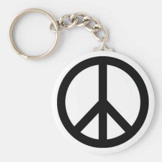 Llavero del signo de la paz