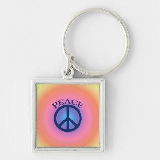 Llavero del símbolo de paz