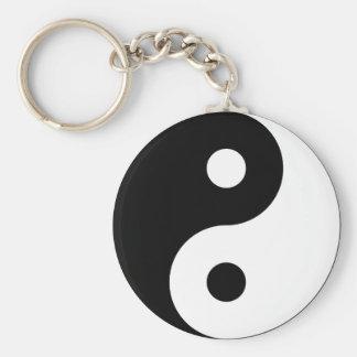 Llavero del símbolo de Yin Yang
