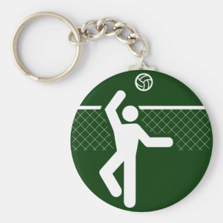 Llavero del símbolo del voleibol