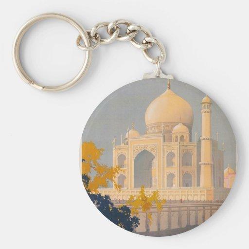 Llavero del Taj Mahal