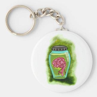 Llavero del tarro del cerebro