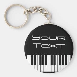 Llavero del teclado de piano