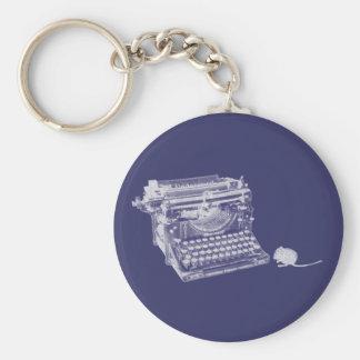 Llavero del teclado y del ratón del vintage