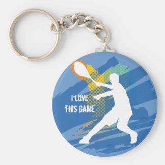 Llavero del tenis: Amo este juego
