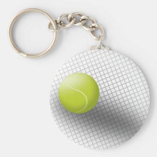 Llavero del tenis. Deporte, tenis, pelota de tenis