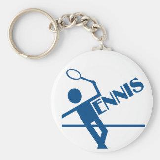 Llavero del tenis, personalizar