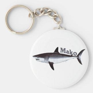 Llavero del tiburón de Mako
