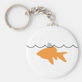 Llavero del tiburón del Goldfish