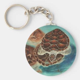 Llavero del tiempo de la tortuga