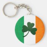 Llavero del trébol de Irlanda