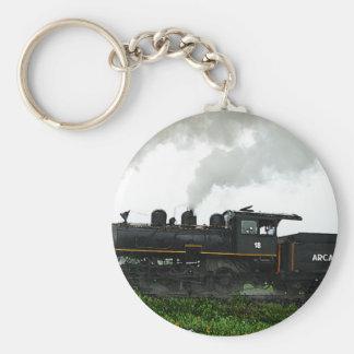 Llavero del tren de excursión