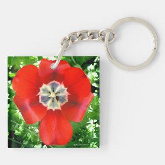 """Llavero del """"tulipán rojo"""""""