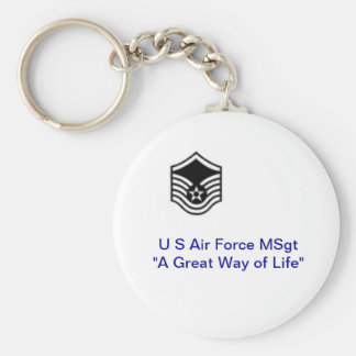 Llavero del U.S.A.F. Msgt