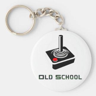 Llavero del videojugador de la escuela vieja
