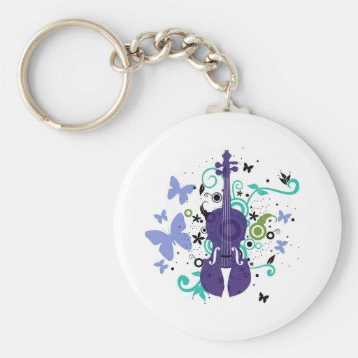 Llavero del violín