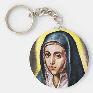 Llavero del Virgen María de El Greco
