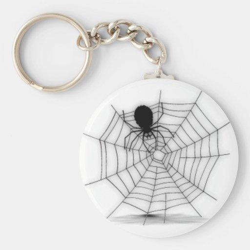 Llavero del Web de araña