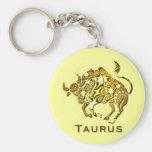 Llavero del zodiaco del tauro
