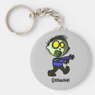 Llavero del zombi del vegano