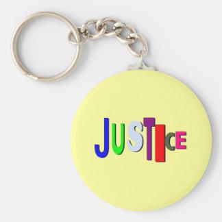 Llavero desigual C de la justicia