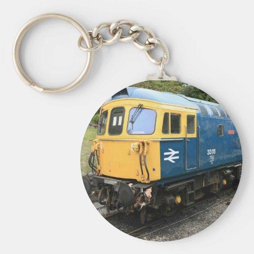 Llavero diesel del tren de la clase 33 de British