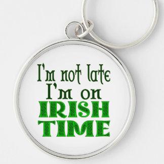 Llavero divertido del refrán del tiempo irlandés