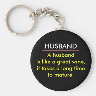 Llavero divertido del vino