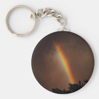 Llavero dramático del arco iris