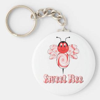 Llavero dulce de la abeja