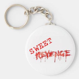 Llavero dulce del logotipo de la venganza