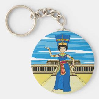 Llavero egipcio de la reina Nefertiti