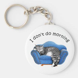 Llavero el dormir del gato del gatito