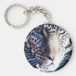 Llavero en peligro del leopardo de Amur