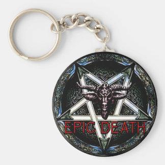 Llavero épico de la muerte - Pentagram
