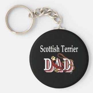 llavero escocés del papá del terrier
