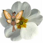 Llavero esculpido del Faery 6 de la flor del KRW Llavero Fotográfico