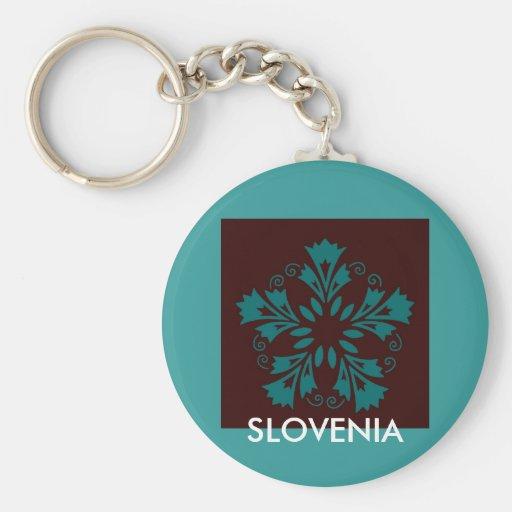 Llavero esloveno de los claveles