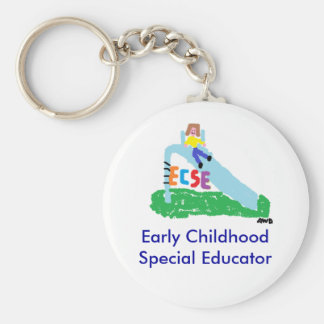 Llavero especial del educador de la niñez temprana