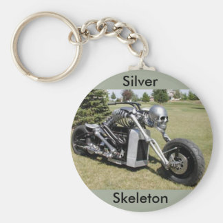 Llavero esquelético de la motocicleta