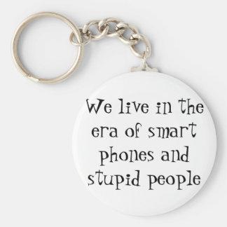 llavero estúpido de la gente de los teléfonos eleg