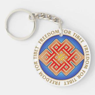 Llavero eterno libre del nudo de Tíbet