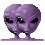 Llavero extranjero púrpura de la escultura de la f escultura fotografica