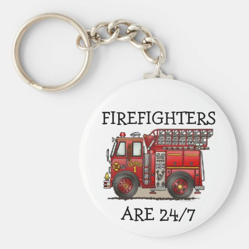 Llavero FA# del coche de bomberos de la escalera