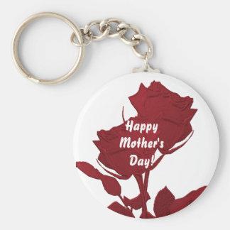 Llavero feliz del día de madre