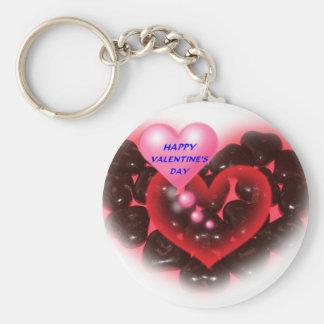 Llavero feliz del día de San Valentín