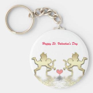 Llavero feliz del el día de San Valentín del St.