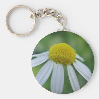 Llavero flor de camomila
