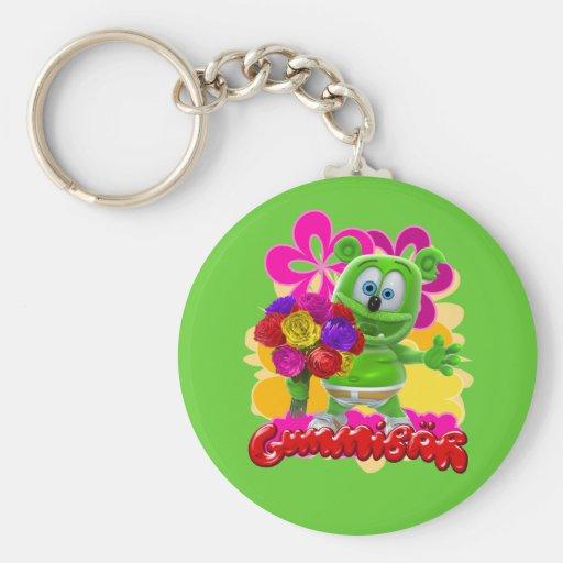 Llavero floral de Gummibär