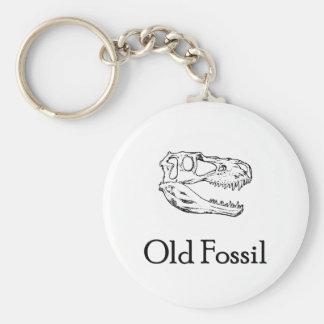 Llavero fósil viejo